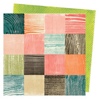 Vicki Boutin - Fernwood Collection - 12 x 12 Double Sided Paper - Time Block
