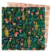 Vicki Boutin - Fernwood Collection - 12 x 12 Double Sided Paper - Into The Woods