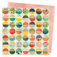 Vicki Boutin - Fernwood Collection - 12 x 12 Double Sided Paper - Full Circle