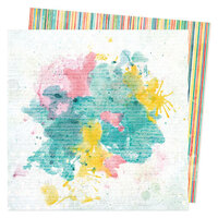 Vicki Boutin - Fernwood Collection - 12 x 12 Double Sided Paper - Simple Pleasure
