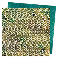 Vicki Boutin - Fernwood Collection - 12 x 12 Double Sided Paper - Climbing Vines