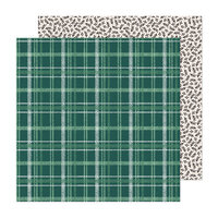 Crate Paper - Busy Sidewalks Collection - 12 x 12 Double Sided Paper - Cozy Christmas