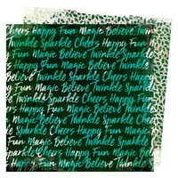 Vicki Boutin - Warm Wishes Collection - Christmas - 12 x 12 Double Sided Paper - Believe in Magic
