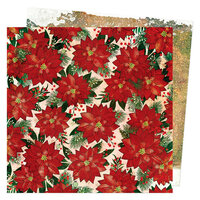 Vicki Boutin - Warm Wishes Collection - Christmas - 12 x 12 Double Sided Paper - Tis the Season
