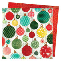Vicki Boutin - Warm Wishes Collection - Christmas - 12 x 12 Double Sided Paper - Deck the Halls