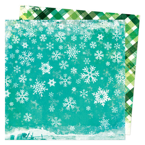 Vicki Boutin - Warm Wishes Collection - Christmas - 12 x 12 Double Sided Paper - Snow Day