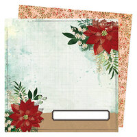 Vicki Boutin - Warm Wishes Collection - Christmas - 12 x 12 Double Sided Paper - Beautiful Sight