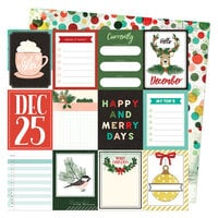 Vicki Boutin - Warm Wishes Collection - Christmas - 12 x 12 Double Sided Paper - Hello December