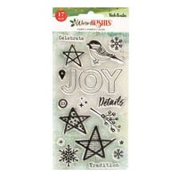 Vicki Boutin - Warm Wishes Collection - Christmas - Clear Acrylic Stamps
