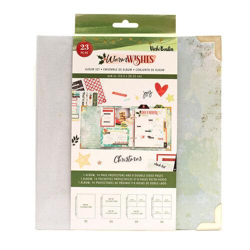 Vicki Boutin - Warm Wishes Collection - Christmas - 6 x 8 Album Set