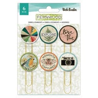 Vicki Boutin - Fernwood Collection - Epoxy Paper Clips