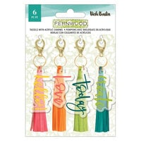 Vicki Boutin - Fernwood Collection - Tassels with Acrylic Charms
