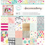 American Crafts - Dear Lizzy Collection - Documentary - 12 x 12 Paper Pad