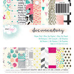 American Crafts - Documentary Collection - 6 x 6 Paper Pad