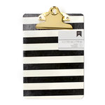 American Crafts - Mini Clipboard - 5 x 7 - Stripes