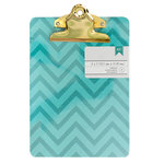 American Crafts - Mini Clipboard - 5 x 7 - Chevron