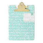 American Crafts - Mini Clipboard - 5 x 7 - Script