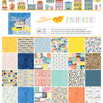 American Crafts - Amy Tangerine Collection - Finders Keepers - 12 x 12 Paper Pad