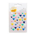 American Crafts - Finders Keepers Collection - Enamel Hearts