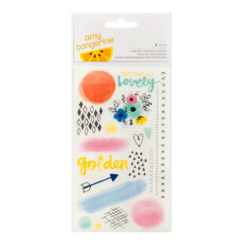 American Crafts - Finders Keepers Collection - Rub Ons