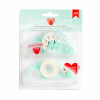 American Crafts - Adhesives - Runners - Sticky Thumb - Tape Runner and Refill