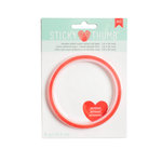American Crafts - Adhesives - Sticky Thumb - Super Sticky Red Tape - 0.25 Inches - 5 Yards