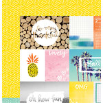 American Crafts - Amy Tangerine Collection - Finders Keepers - 12 x 12 Double Sided Paper - Field Trip