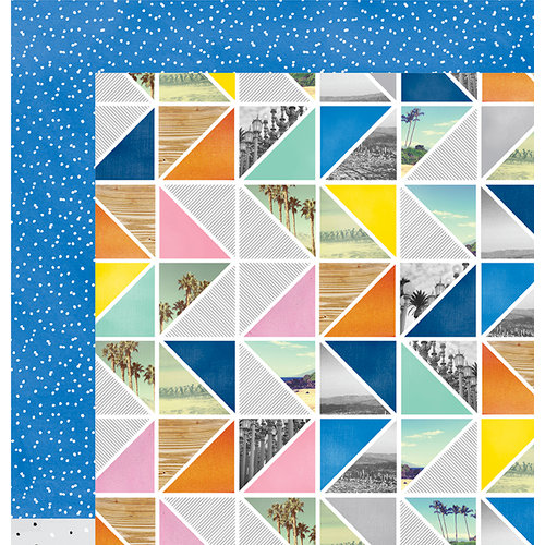 American Crafts - Finders Keepers Collection - 12 x 12 Double Sided Paper - Pursuit