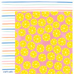 American Crafts - Amy Tangerine Collection - Finders Keepers - 12 x 12 Double Sided Paper - Keen