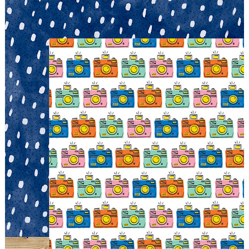 American Crafts - Finders Keepers Collection - 12 x 12 Double Sided Paper - Explore