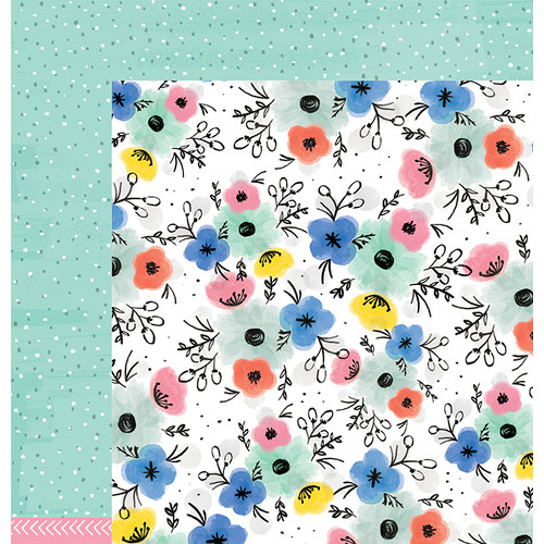 American Crafts - Amy Tangerine Collection - Finders Keepers - 12 x 12 Double Sided Paper - Expedition