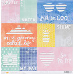 American Crafts - Finders Keepers Collection - 12 x 12 Die Cut Paper - Scout