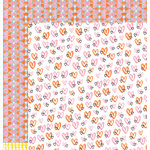 American Crafts - Amy Tangerine Collection - Finders Keepers - 12 x 12 Double Sided Paper - Dreamcatcher