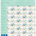 American Crafts - Amy Tangerine Collection - Finders Keepers - 12 x 12 Double Sided Paper - Compass