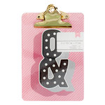 American Crafts - Mini Clipboard - 5 x 7 - Ampersand