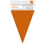 American Crafts - Halloween Collection - Banners - Dots