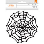 American Crafts - Halloween Collection - Doilies - Large Spiderwebs