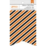 American Crafts - Halloween Collection - Banners - Stripes