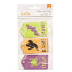 American Crafts - Halloween Collection - Layered Tags