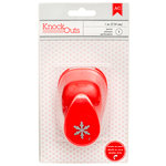American Crafts - Knock Outs - Deck the Halls Collection - Christmas - Mini Punch - Snowflake - 1 Inch