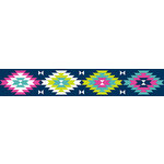 American Crafts - Grosgrain Ribbon - 1.5 Inch - Bright Aztec - 3 Yards