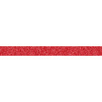 American Crafts - Glitter Tape - Red - 0.625 Inches