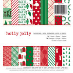 American Crafts - Christmas - 6 x 6 Paper Pad - Holly Jolly