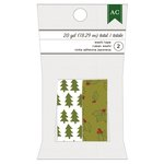 American Crafts - Christmas - Washi Tape - Trees and Holly