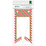 American Crafts - Christmas - Banner - Stripes