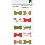 American Crafts - Christmas - Holiday Ribbon Bows