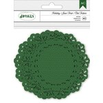 American Crafts - Christmas - Doilies - Green