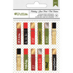 American Crafts - Christmas - Clothespins - Phrases
