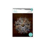 Heidi Swapp - Paper Lanterns - Medium - 8 Point - Silver Foil