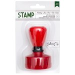 American Crafts - Christmas - Self Inking Stamp - Deliver To: